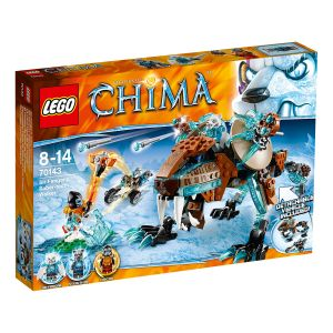 Lego 70143 - Legends of Chima : Le robot tigre de Sir Fangar