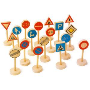 Legler Panneaux de signalisation en bois Hervé