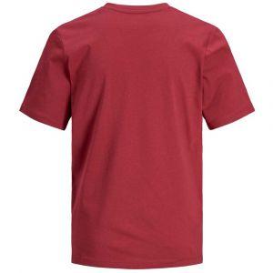 Jack & Jones T-shirt enfant Jack Jones JJELOGO - Couleur 8 ans,10 ans,12 ans,16 ans,13 ans - Taille Rouge