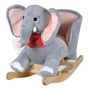 VidaXL Éléphant à bascule