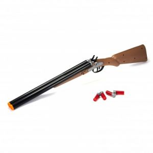 Yoopy Fusil de chasse western et 4 cartouches