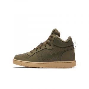 Nike Chaussure Court Borough Mid Winter pour Enfant plus âgé - Vert - Taille 37.5