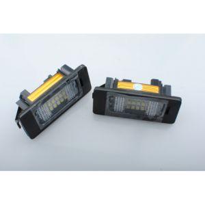 Habill-auto Kit éclairage de plaque LED blanc BMW E39/E46/M3/E90/E91%u2026