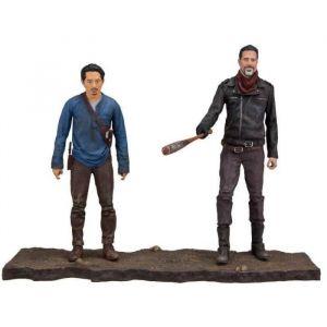 MCFarlane Toys The Walking Dead TV Version pack 2 figurines Negan & Glenn 13 cm