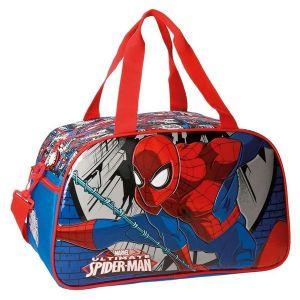 Sac de sport Spiderman Jump 45 cm Bleu