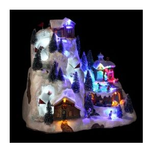 Village de Noël lumineux Super G