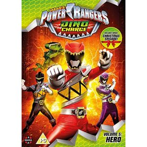 Power Rangers Dino Charge: Hero (Volume 5) Episodes 18-22 (Incl. Christmas Special) [Edizione: Regno Unito] [Import italien] [DVD]