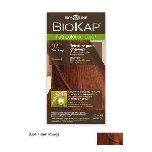 Image de Biokap Nutricolor rouge Delicato - Teinture pour cheveux longue tenue