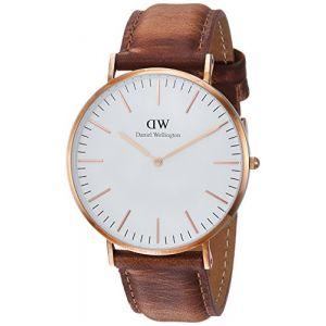 Daniel Wellington DW00100189 - Montre pour femme avec bracelet en cuir