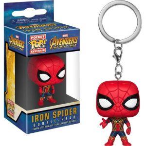 Funko Figurine - Pop - Porte-clés - Marvel - Avengers Infinity War - Iron Spider