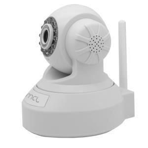 MCL Samar Camera IP motorisée 0.3 Mega pixel Wifi + audio