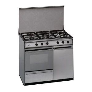 Meireles Cuisinière au gaz butane 90 cm 114 L