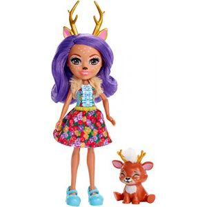 Mattel Poupée Enchantimals Danessa biche et Sprint