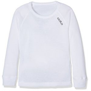 Odlo Vêtements intérieurs Shirt L/s Crew Neck Warm Kids - White - Taille 152