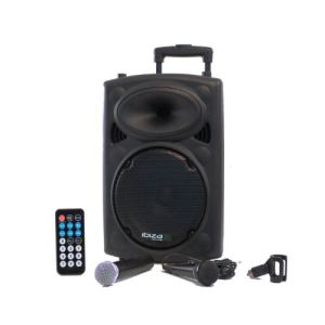 Ibiza Sound PORT10 VHF-N - Karaoké mobile 500W USB/MP3