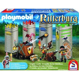Schmidt Le château fort des chevaliers Playmobil