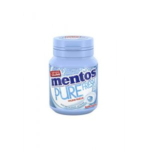 Mentos GUM Pack de 6 Boîtes Pure Fresh Menthe Douce (360 g)