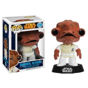 Image de Funko Figurine Pop! Star Wars : Admiral Ackbar
