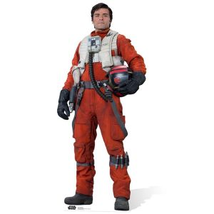 Figurine géante en carton Poe Dameron Star Wars