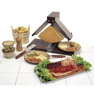 Bron Coucke BREZ01 - Appareil à raclette 1/4 meule Brézière