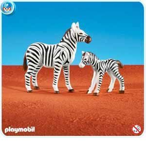 Playmobil 7898 - Zèbre et son petit