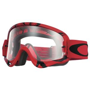 Oakley O Frame Mx Intimidator Red / Black / Clear Masques homme