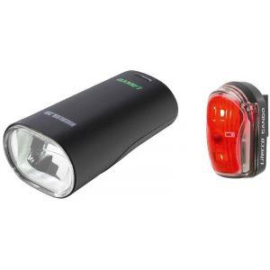 Litecco Highlux 30 + Cando - Kit éclairage vélo - noir Sets de lampes