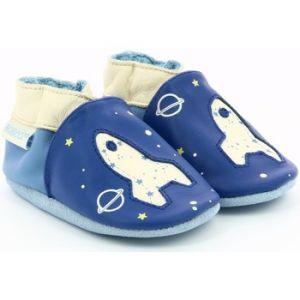 Robeez Chaussons bébé Planet Travel bleu - Taille 27,28 / 29,30 / 31,17 / 18,19 / 20,23 / 24,25 / 26,21 / 22