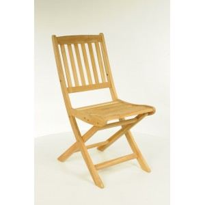 Proloisirs Chaise de jardin pliante Vittel en teck