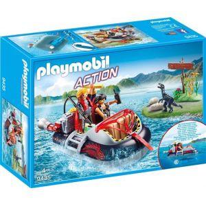 Playmobil 9435 Action - Aéroglisseur et moteur submersible