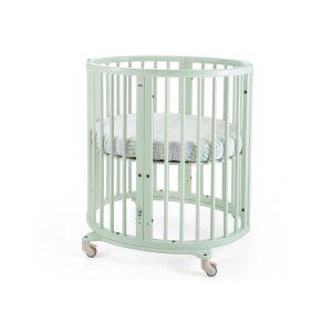 Stokke Sleepi Mini Mint Vert tilleul, Le mini berceau ovale.