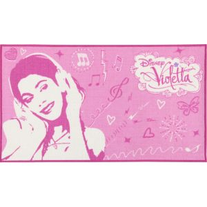 Monbeautapis Tapis Violetta Disney Channel (140 x 80 cm)