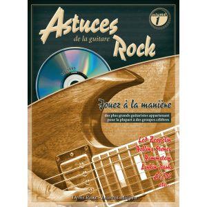 Coup de pouce Astuces de la Guitare Rock. Partitions, Livre, CD pour Tablature Guitare