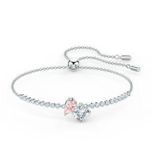 Swarovski Bracelet 5517120 Bracelet métal rhodié rose Femme