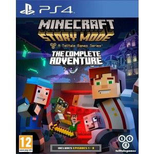 Minecraft : Story Mode - The Complete Adventure sur PS4