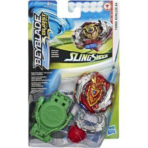 Hasbro Toupie rouge Sling Shock Turbo Achilles A4 Burst Turbo