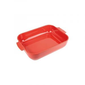 Peugeot Plat à four rectangle 40 cm Rouge - Appolia