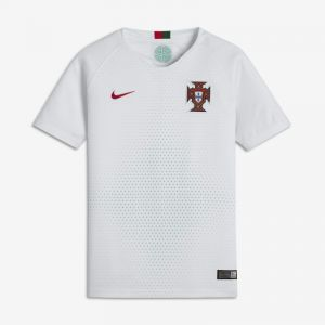 Nike Portugal Away Coupe du Monde 2018 Maillot Garçon, Blanc, FR : M (Taille Fabricant : M)