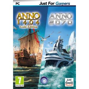 Double pack Anno 1404 + Anno 2070 [PC]