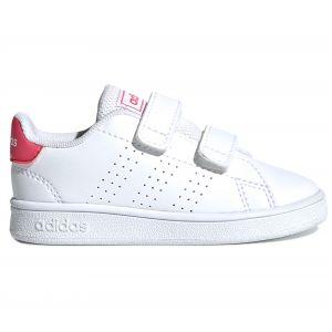 Adidas Baskets Advantage Infant - Ftwr White / Real Pink / Ftwr White - EU 25