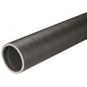 Ubbink Conduit isolé pour raccordement chauffe-eau thermodynamique - Longueur : 1.00 m - Diamètre : 125