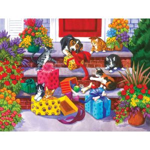 Sunsout Nancy Wernersbach - Time for Toys and Treats