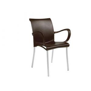 Nardi Fauteuil avec accoudoir design Jardin & terrasse Dama - Café - Extérieur