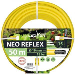 Cap Vert Tuyau d'arrosage Néo Reflex - Diamètre 19 mm - Longueur 50 m