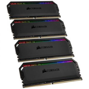 Corsair Dominator Platinum RGB 64 Go (4 x 16 Go) DDR4 3000 MHz CL15 Black