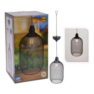 Progarden Lampe suspendue solaire à LED Métal 15 cm