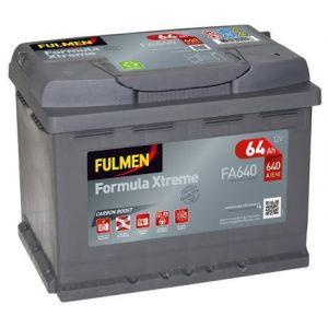 Fulmen Batterie auto XTREME FA640 (+ droite) 12V 64AH 640A