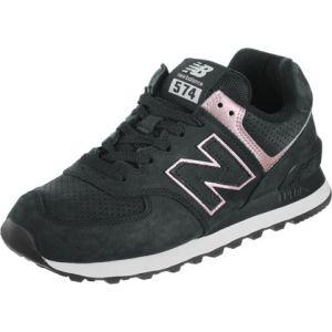 New Balance Wl574 W chaussures noir rose 37,5 EU