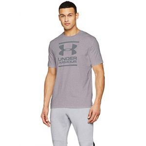 Under Armour Under Armour 1326849 - T-Shirt - Homme - Gris - FR : S