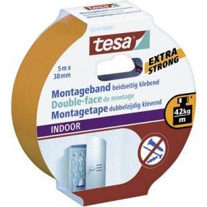 Tesa Ruban adhésif de montage intérieur 5m x 38mm